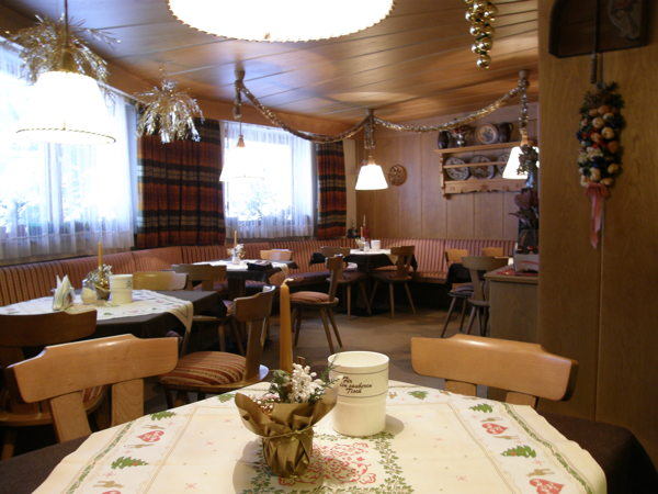 Das Restaurant Colfosco Pera Lada