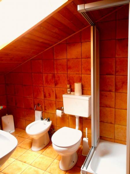 Photo of the bathroom B&B (Garni) + Apartments Pera Lada