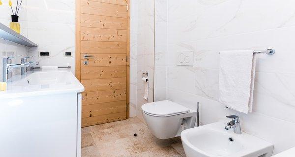 Foto del bagno Appartamento Rainer