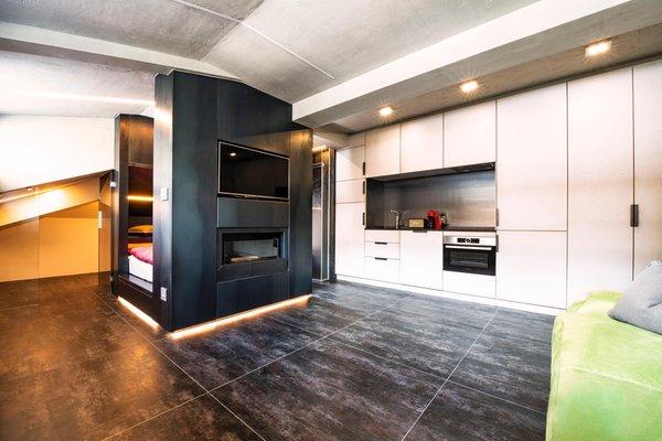 La zona giorno Appartamento Loft on 1236