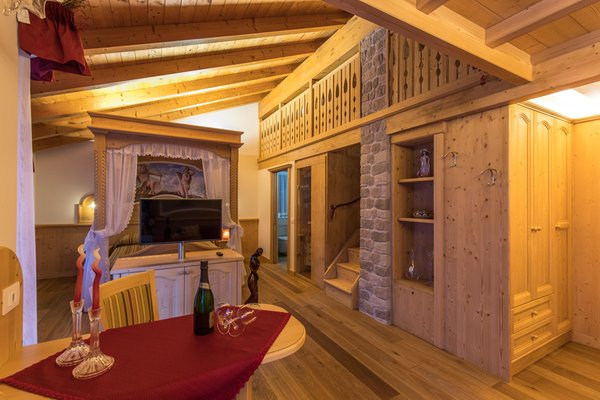 La zona giorno Al Cedro - Bed & Breakfast