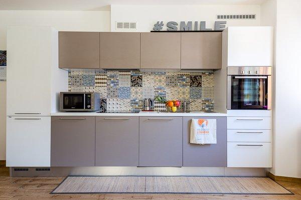 Photo of the kitchen Casa Miramonti
