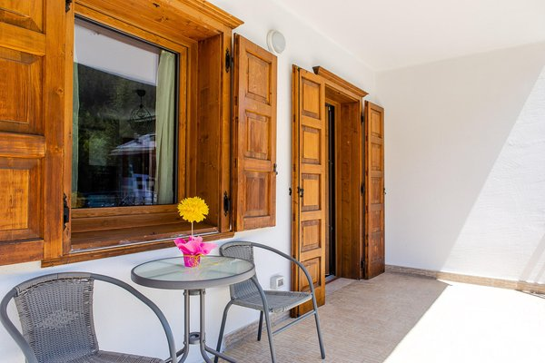 Photo of the balcony Casa Miramonti