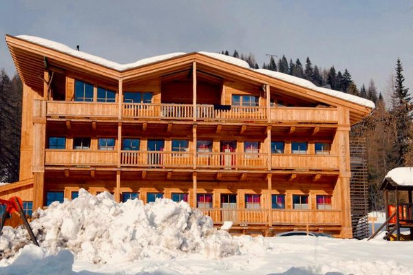 Foto invernale di presentazione Residence Valpiccola