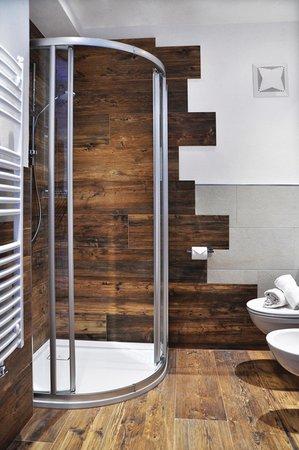 Foto del bagno Pensione + Appartamenti Rungg