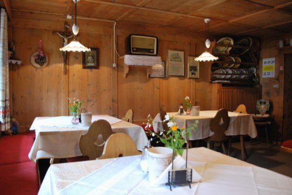 The restaurant La Villa Casteller