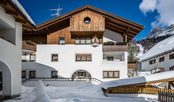 Winter presentation photo A Val - Residence 2 stars
