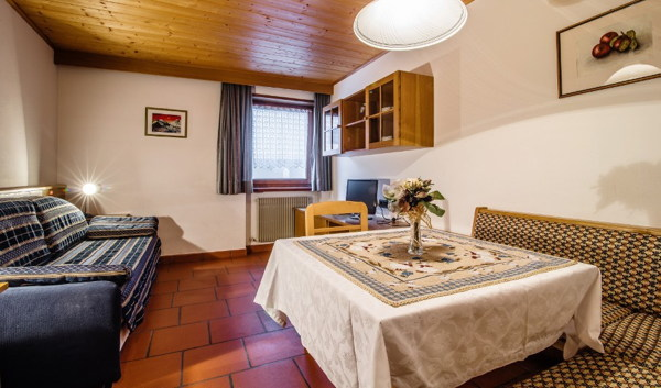 The living area A Val - Residence 2 stars