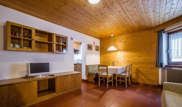 Der Wohnraum A Val - Residence 2 Sterne