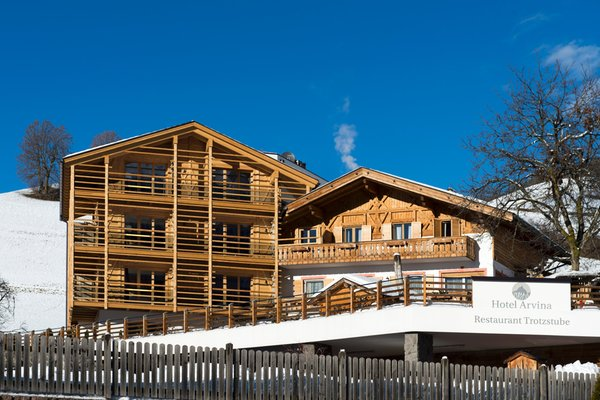 Foto invernale di presentazione Arvina - Hotel 4 stelle