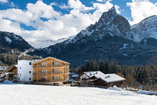 Foto Außenansicht im Winter Arvina