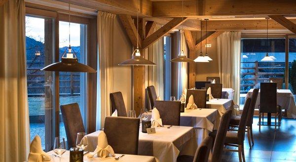 Il ristorante Siusi allo Sciliar Arvina