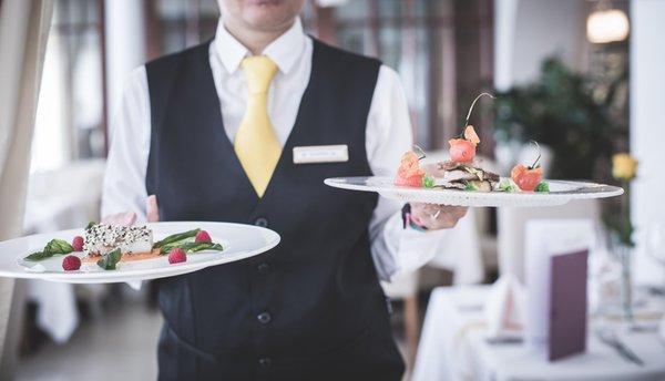 Das Restaurant Mitterolang (Olang) Famelí