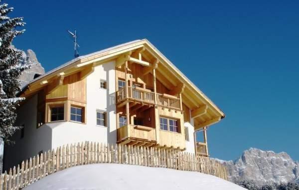Foto invernale di presentazione Appartamenti Ciasa Primula