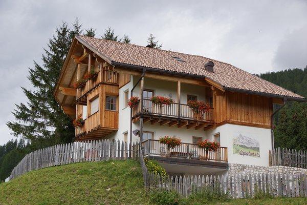 Foto estiva di presentazione Appartamenti Ciasa Primula