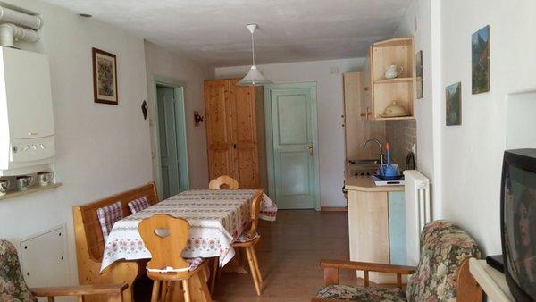 Der Wohnraum Ferienwohnung Aguai