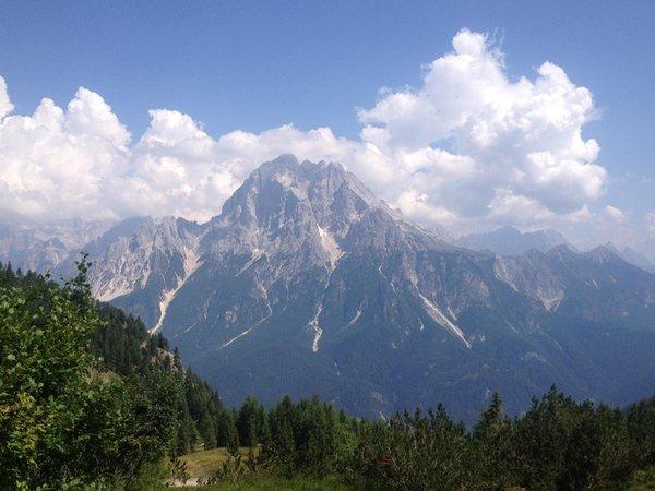Panoramic view Val di Zoldo - Forno