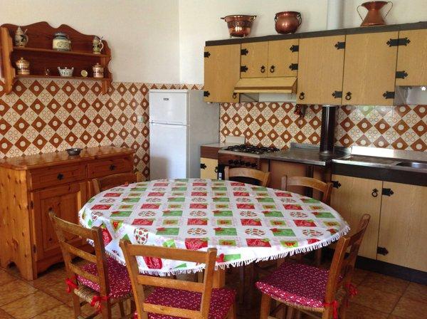 Photo of the kitchen Casa Cercenà