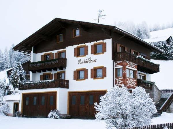 Foto invernale di presentazione Appartamento Sas dla Crusc