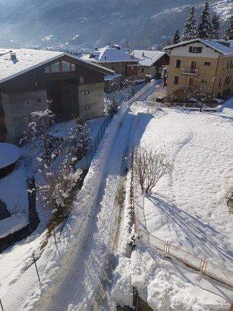 Foto esterno in inverno Casa Reit