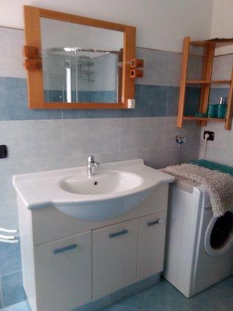Foto del bagno Appartamenti Delvai Cesarina