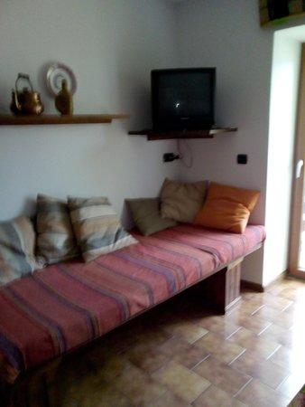 The living area Apartments Delvai Cesarina