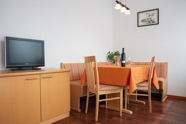 La zona giorno Haus Solaris - Appartamenti 3 soli