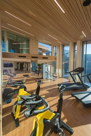 Foto vom Fitness-Bereich Hotel The Panoramic Lodge
