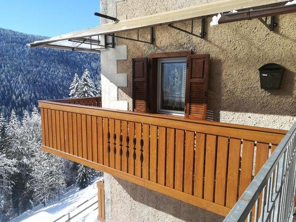 Foto Außenansicht im Winter La Suite