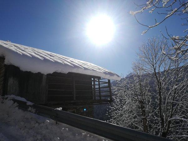 Foto esterno in inverno Civico 10