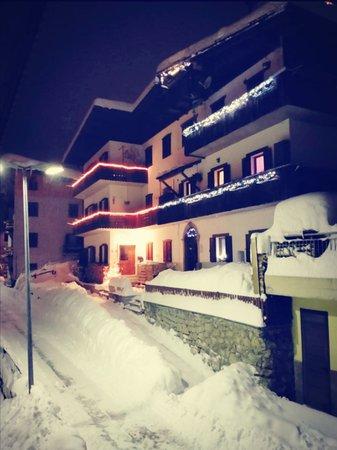 Foto Außenansicht im Winter Civico 10