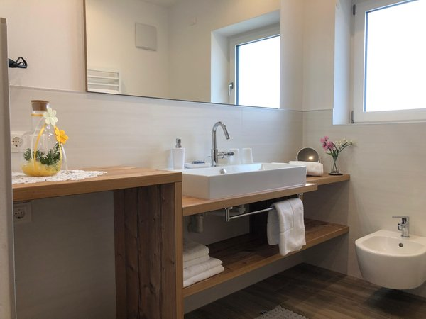Foto del bagno Apartment Obermair