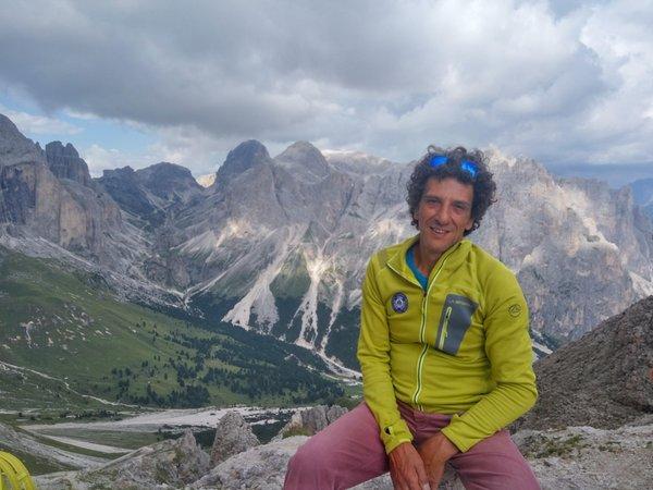 Presentation Photo Mountain guide Luigi Baroni