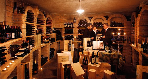 Wine cellar San Vigilio / St. Vigil Almhof Call - Belvita & Wellness