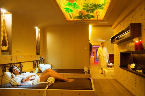 Foto vom Wellness-Bereich Hotel Almhof Call - Belvita & Wellness