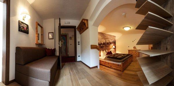 La zona giorno Aqua Bad Cortina & mineral baths - Hotel 3 stelle sup.