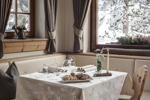 The restaurant San Vigilio / St. Vigil Aqua Bad Cortina - hotel & thermal baths