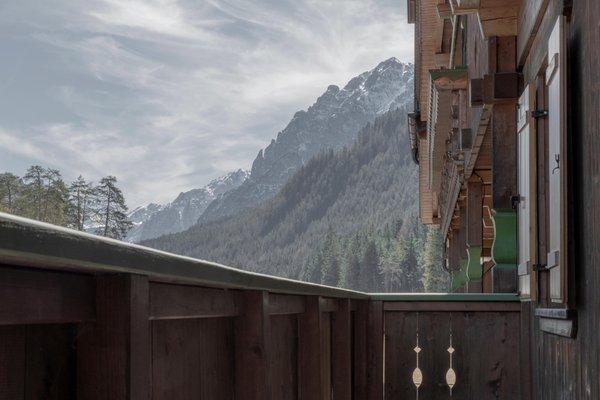 Foto vom Balkon Aqua Bad Cortina - hotel & thermal baths
