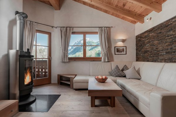 Der Wohnraum Aqua Bad Cortina - hotel & thermal baths