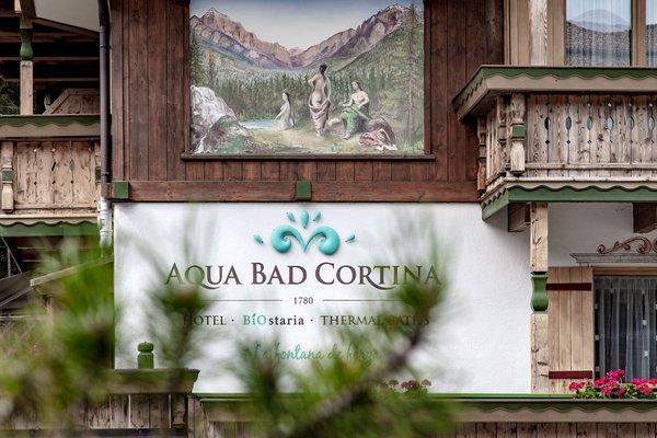 Foto di alcuni dettagli Aqua Bad Cortina - BIOhotel & thermal baths
