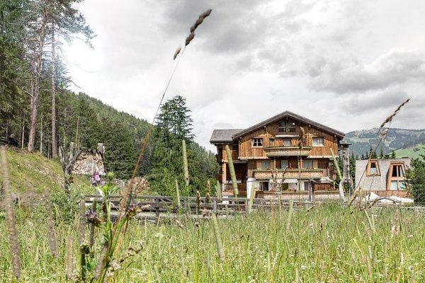 Foto esterno in estate Aqua Bad Cortina - BIOhotel & thermal baths