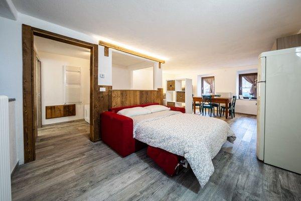 Der Wohnraum Ferienwohnung Casa Relax Nus