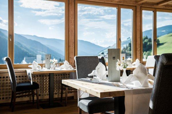The restaurant San Vigilio / St. Vigil Mareo Dolomites