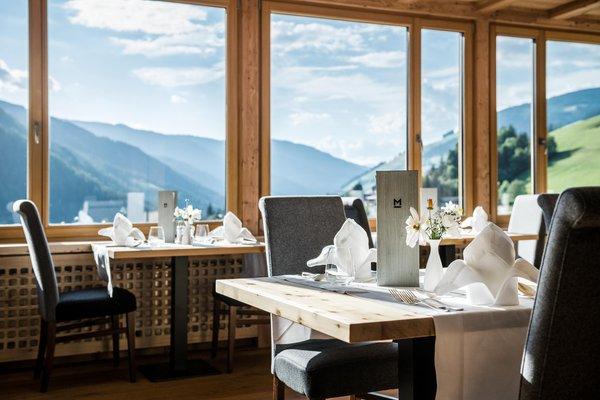 Das Restaurant St. Vigil Mareo Dolomites