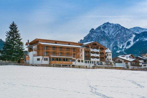 Foto invernale di presentazione Mareo Dolomites - Hotel 4 stelle