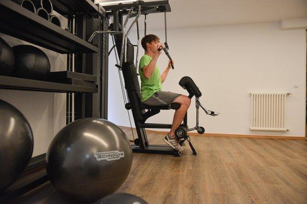 Foto della zona fitness Hotel Condor