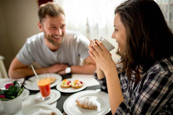Das Frühstück Corona - La Magia dei Cristalli - Hotel 4 Sterne
