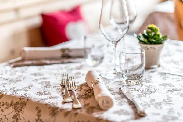 The restaurant San Vigilio / St. Vigil Corona - La Magia dei Cristalli