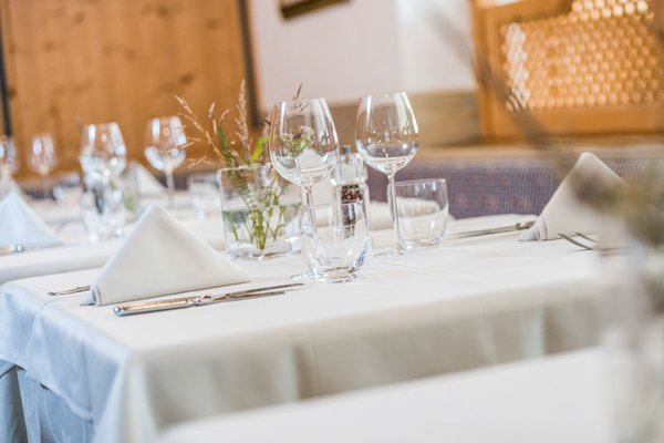 The restaurant San Vigilio / St. Vigil Sporthotel Exclusive