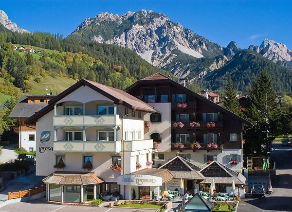 Foto estiva di presentazione Hotel Teresa
